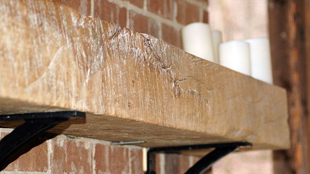 Rough Cut Mantel