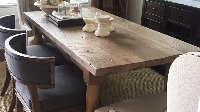 Franciscan Dining Table