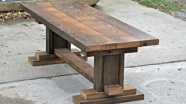 Troyer Mill Pedestal Table