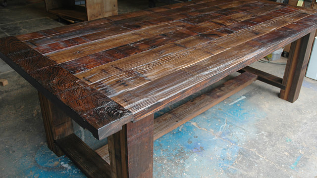 Troyer Mill Trestle Table