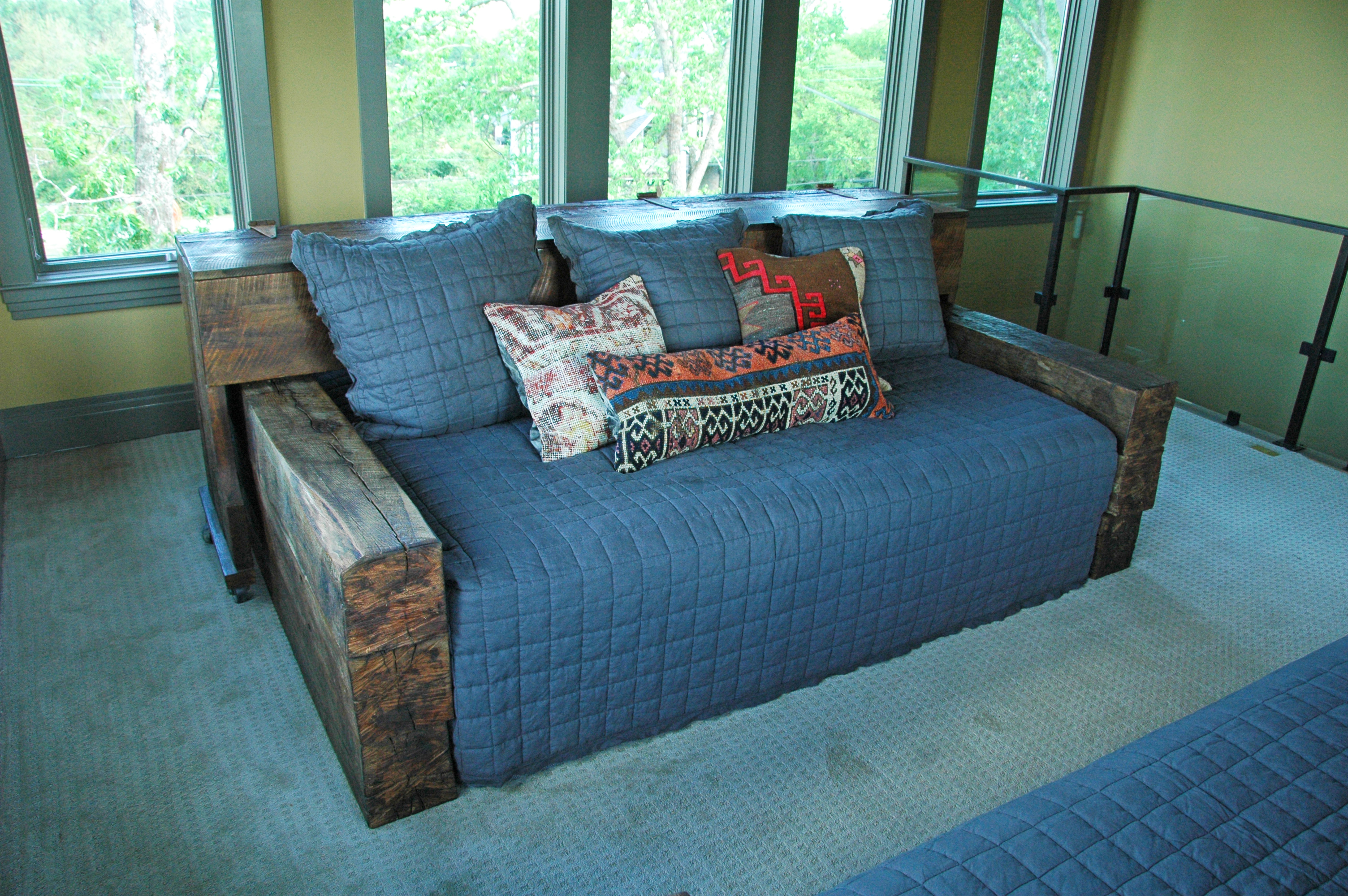 Antique Wooden Daybed