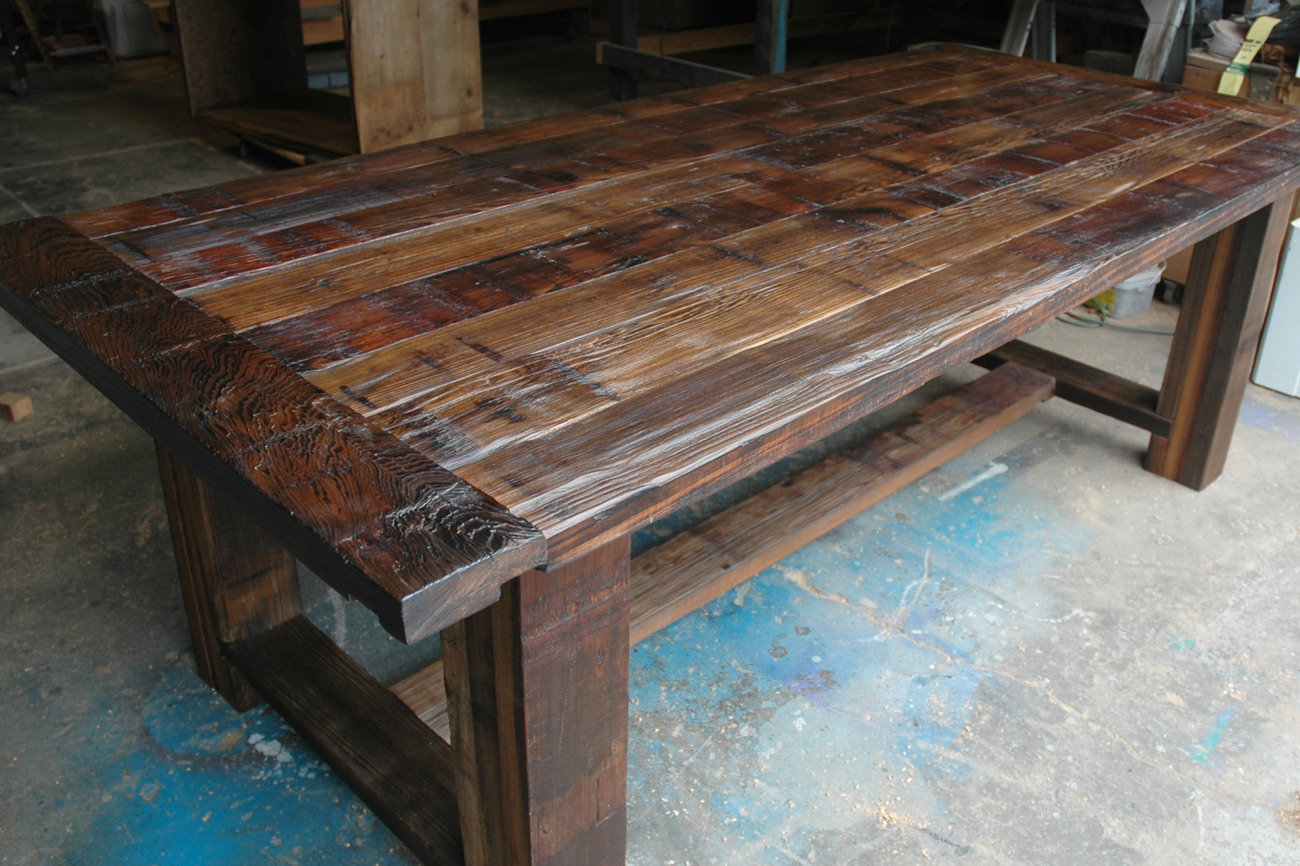 Design Trestle Table troyer mill trestle table products table